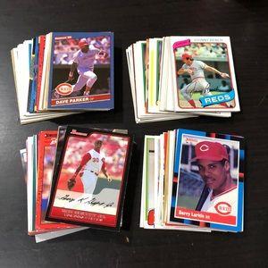 Cincinnati Reds Baseball Cards - Lot of 130